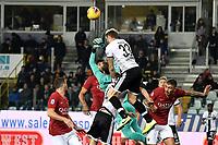 Juraj Kucka of Parma , Pau Lopez of AS Roma <br /> Parma 10-11-2019 Stadio Ennio Tardini <br /> Football Serie A 2019/2020 <br /> Parma Calcio - AS Roma <br /> Photo Andrea Staccioli / Insidefoto