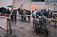 Eli Iserbyt (BEL/Marlux-Bingoal)<br /> <br /> Superprestige cyclocross Hoogstraten 2019 (BEL)<br /> Elite Men's Race<br /> <br /> ©kramon
