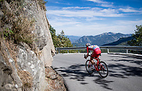 Pierre-Luc Périchon (FRA/Cofidis) down the Col de Turini<br /> <br /> Stage 2 from Nice to Nice (186km)<br /> <br /> 107th Tour de France 2020 (2.UWT)<br /> (the 'postponed edition' held in september)<br /> <br /> ©kramon