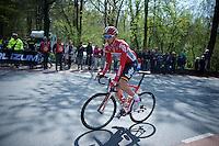 Dennis Vanendert (BEL/Lotto-Soudal) up the Loorberg<br /> <br /> 50th Amstel Gold Race 2015