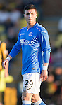 St Johnstone FC.. 2014-2015 Season<br /> Michael O'Halloran<br /> Picture by Graeme Hart.<br /> Copyright Perthshire Picture Agency<br /> Tel: 01738 623350  Mobile: 07990 594431