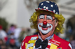 A clown with the R&R's participates in the annual Nevada Day parade in Carson City, Nev. on Saturday, Oct. 29, 2016. <br /> Photo by Cathleen Allison