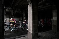 Dylan Groenewegen (NED/Lotto Jumbo NL) in the peloton. <br /> <br /> 78th Euro Metropole Tour 2018<br /> La Louvière – Tournai (BEL): 206km