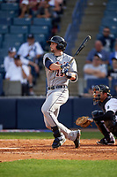 Detroit Tigers first baseman Will Allen (17) at bat during a Spring Training game against the New York Yankees on March 2, 2016 at George M. Steinbrenner Field in Tampa, Florida.  New York defeated Detroit 10-9.  (Mike Janes/Four Seam Images)