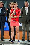 Romanian Simona Halep during Mutua Madrid Open Tennis 2016 in Madrid, May 07, 2016. (ALTERPHOTOS/BorjaB.Hojas)