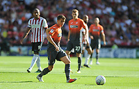 Swansea City's Tom Carroll during the Sky Bet Championship match between Sheffield United and Swansea City at Bramall Lane, Sheffield, England, UK. Saturday 04 August 2018