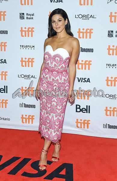 "10 September 2017 - Toronto, Ontario Canada - Cristina Rosato. 2017 Toronto International Film Festival - ""mother!"" Premiere held at TIFF Bell Lightbox. Photo Credit: Brent Perniac/AdMedia"