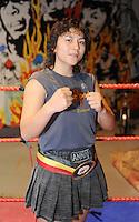 4x Belgisch Kampioen in Boxclub Lichtervelde..Anna Beuselinck..foto David Catry / VDB