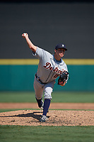 Detroit Tigers pitcher Paul Richan (24) during a Florida Instructional League intrasquad game on October 17, 2020 at Joker Marchant Stadium in Lakeland, Florida.  (Mike Janes/Four Seam Images)