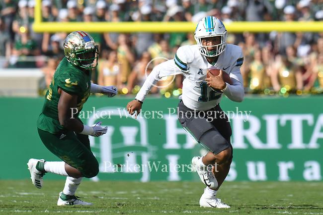 Tulane downs USF, 41-15.