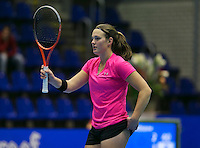 20-12-13,Netherlands, Rotterdam,  Topsportcentrum, Tennis Masters,  Angelique van der Meet(NED)   <br /> Photo: Henk Koster
