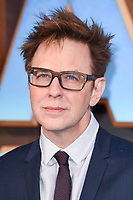 "director, James Gunn<br /> at the ""Guardians of the Galaxy 2"" premiere held at the Hammersmith Apollo, London. <br /> <br /> <br /> ©Ash Knotek  D3257  24/04/2017"