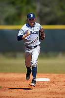 Butler Bulldogs left fielder Drew Small (1) during a game against the Indiana Hoosiers on March 6, 2016 at North Charlotte Regional Park in Port Charlotte, Florida.  Indiana defeated Butler 2-1.  (Mike Janes/Four Seam Images)