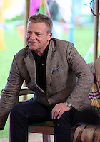 Saturday 24 May 2014, Hay on Wye UK<br /> Pictured: Singer Suggs of band Madness.<br /> Re: The Telegraph Hay Festival, Hay on Wye, Powys, Wales UK.