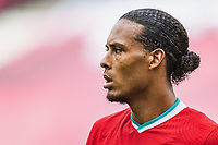 25th August 2020, Red Bull Arena, Slazburg, Austria; Pre-season football friendly, Red Bull Salzburg versus Liverpool FC;  Virgil van Dijk FC Liverpool