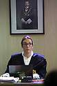 Palma 1st section High Court Judge  Rocio Martin. Court presides by King Felipe VI picture