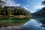 Schweiz, Graubuenden, Gemeinde Berguen, oberhalb von Preda liegt der Palpuognasee (Lai da Palpuogna) auf 1.918 m auf dem Weg zum Albulapass in den Schweizer Alpen | Switzerland, Graubuenden, Community Berguen, Palpuogna Lake above Preda at Albula passroad 1.918 m in the Swiss Alps
