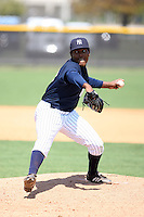 March 17th 2008:  Angel Reyes of the New York Yankees minor league system during Spring Training at Legends Field Complex in Tampa, FL.  Photo by:  Mike Janes/Four Seam Images