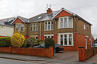 2018 03 27 House in Cardiff, Wales, UK
