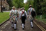May 1st, the Kennet Morris Men, Goring, Berkshire, England. 2006