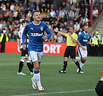 Andy Halliday scores from the spot