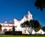 'Known as 'King of the Missions' Mission San Luis Rey De Francia, the eighteenth mission, founded on June 13, 1798 at Oceanside, California.