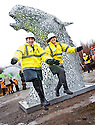 ::  HELIX PROJECT ::  GRANT WOODBURN, FALKIRK HIGH SCHOOL, AND CHARLOTTE LAING, ST MUNGOS SCHOOL, RETURN TO HELP LAUNCH THE START OF THE £43 MILLION LAND TRANSFORMATION PROJECT ::.