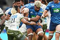 14th March 2021; Eden Park, Auckland, New Zealand;  Hoskins Sotutu, Blues v Highlanders, Super Rugby Aotearoa. Eden Park, Auckland. New Zealand. Sunday 14 March 2021.