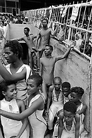 Ethiopia. Addis Ababa is the capital city and the name of a region of Ethiopia. Olympic stadium. Circus Ethiopia, a group of children, young men and women ( 30 all together), waits to enter on stage and perform its show. Circus Ethiopia was legally established in 1991 with a view to introduce circus art in Ethiopia. Ever since its creation Circus Ethiopia has given new dimension to  circus art in Ethiopia but as well internationally. By blending the art with the Ethiopian traditional costume, music and dance, Circus Ethiopia with its associative approach has inspired many circuses to grow throughout Ethiopia. © 1996  Didier Ruef