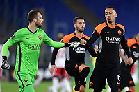 Pau Lopez and Chris Smalling of AS Roma during the Europa League Group Stage A football match between AS Roma and CSKA Sofia at stadio olimpico in Roma (Italy), October, 29th, 2020. Photo Andrea Staccioli / Insidefoto