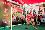 HSBC Sevens Village during the HSBC Hong Kong Rugby Sevens 2017 on 09 April 2017 in Hong Kong Stadium, Hong Kong, China. Photo by King Chung Fung / Power Sport Images