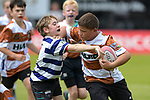 NELSON, NEW ZEALAND - 100yrs of Golden Bay -Motueka Rugby, Kids Rugby, Huia v Riwaka at Trafalgar Park, Nelson. New Zealand. Saturday 25th October 2020. (Photos by Barry Whitnall/Shuttersport Limited)