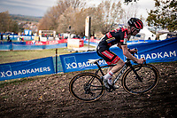 race leader (by a big margin) Eli Iserbyt (BEL/Pauwels Sauzen-Bingoal) .<br /> <br /> Koppenbergcross 2020 (BEL)<br /> men's race<br /> <br /> ©kramon