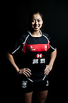 Ramona Pascual poses during the Hong Kong 7's Squads Portraits on 5 March 2012 at the King's Park Sport Ground in Hong Kong. Photo by Andy Jones / The Power of Sport Images for HKRFU