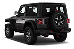 Car pictures of rear three quarter view of 2020 JEEP Wrangler Rubicon 5 Door SUV Angular Rear