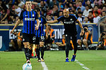 FC Internazionale Coach Luciano Spalletti (R) reacts during the International Champions Cup 2017 match between FC Internazionale and Chelsea FC on July 29, 2017 in Singapore. Photo by Weixiang Lim / Power Sport Images