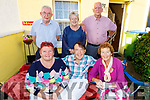 Denis Breen celebrating his birthday at home in Stacks Villas on Friday. Front l to r: Helen Donovan, Denis Breen and Christina Cregan. <br /> Back l to r: John Breen, Kathleen Donovan and Peter Breen.