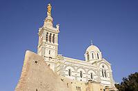 - Marsiglia, la basilica di Notre-Dame de la Garde<br /> <br /> - Marseille, the Basilica of Notre-Dame de la Garde
