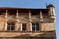 Europe/France/Aquitaine/24/Dordogne/Sarlat:  Vieil hôtel  jouxtant Cathédrale Saint-Sacerdos de Sarlat[