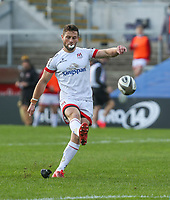 Sunday 25th October 2020   Ulster vs Dragons<br /> <br /> 25 October 2020; John Cooney Converts during the Guinness PRO14 match between Ulster and Dragons at Kingspan Stadium in Belfast. Photo by John Dickson / Dicksondigital
