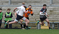 Wednesday 6th March 2019   Ulster Schools Cup - Semi Final 2<br /> <br /> Jamie McNeiight during the Ulster Schools Cup semi-final between MCB and Wallace High School at Kingspan Stadium, Ravenhill Park, Belfast, Northern Ireland. Photo by John Dickson / DICKSONDIGITAL