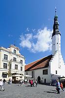 Heilig Geist-Kirche in Tallinn (Reval), Estland, Europa, Unesco-Weltkulturerbe