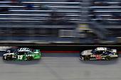 #19: Brandon Jones, Joe Gibbs Racing, Toyota Camry Juniper and #60: Chase Briscoe, Roush Fenway Racing, Ford Mustang Ford