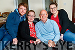 Kathleen White of St Brendan's Park celebrates her birthday at home with her husband Paddy and children Thomas and Alex on Saturday last.