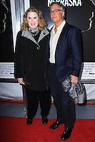 "NEW YORK, NY - NOVEMBER 06: Celia Weston, Mitchell Lichtenstein New York Special Screening of Paramount Pictures' ""Nebraska"" held at Paris Theater on November 6, 2013 in New York City. (Photo by Jeffery Duran/Celebrity Monitor)"