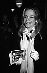 Peggy Lipton attending a performance of 'Dreamgirls' at the Imperial Theatre on December 1, 1981 in New York City.