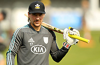 Rory Burns of Surrey warms up  prior to Essex Eagles vs Surrey, Vitality Blast T20 Cricket at The Cloudfm County Ground on 11th September 2020
