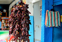Tabarka, Tunisia, 18 Settembre 2018<br /> Peperoni per la preparazione della tipica salsa Harissa