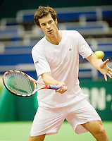 8-2-09,Rotterdam,ABNAMROWTT, Practice Andy Murray