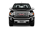 Car photography straight front view of a 2017 GMC Canyon Denali-Crew 4 Door Pickup Front View